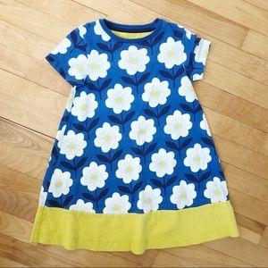 Mini Boden Hopscotch Flower Dress - Size 5-6